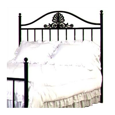 Coronet Slat Headboard Size: Full, Color: Satin Black