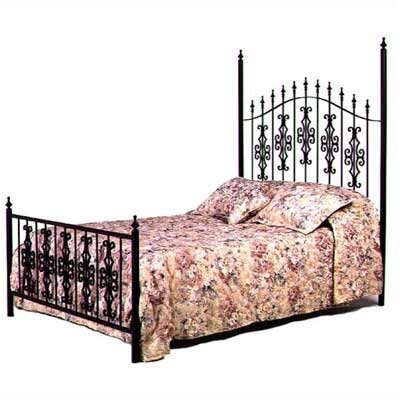 Alise Panel Bed Size: Twin, Color: Aged Iron