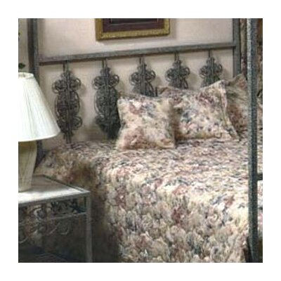 Furniture rental Garden Wrought Iron Headboard Size:...