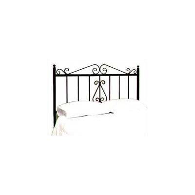French Slat Headboard Finish: Satin Black, Size: Twin