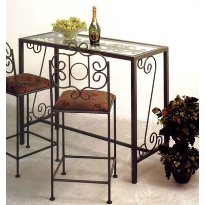 Karol Pub Table Finish: Aged Iron
