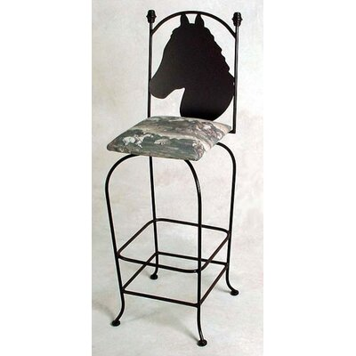 Easy financing Equestrian Counter Stool...