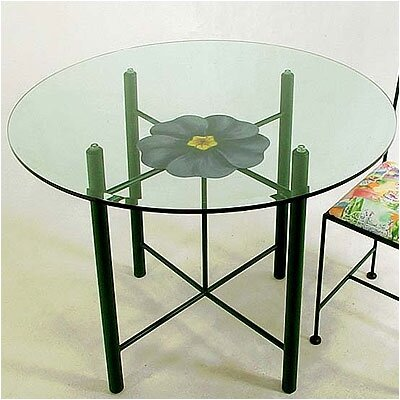 Art / Medallion Dining Table Base Finish: Jade Teal