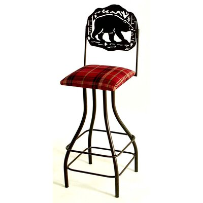 Bad credit financing Silhouette Swivel Stool...