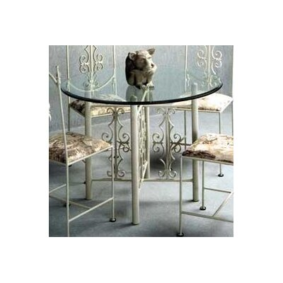 No credit check financing Gothic Dining Table Finish: Satin B...