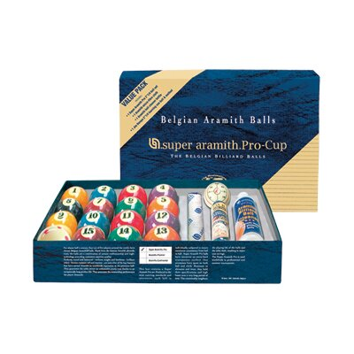 Billiard Balls - Super Aramith Pro Value Pack BBSAPVPK