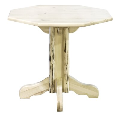 Montana Dining Table Finish: Lacquered, Size: 40