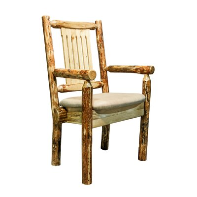 Tustin Arm Chair Upholstery: Buckskin