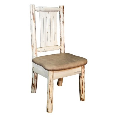 Abordale Upholstered Side Chair Upholstery: Buckskin