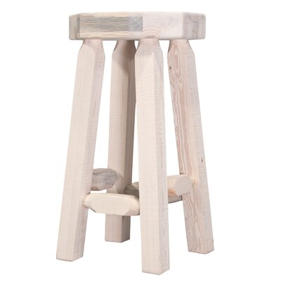 Abella 30 Octagonal Bar Stool Finish: Lacquered