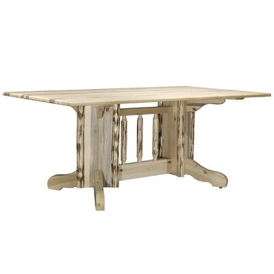 Abordale Double Pedestal Dining Table Finish: Lacquered