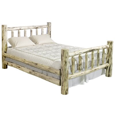 Sleigh Bed Size: California King, Finish: Ready To Finish