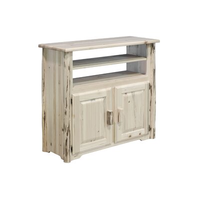 Abordale 44 TV Stand Color: Lacquered