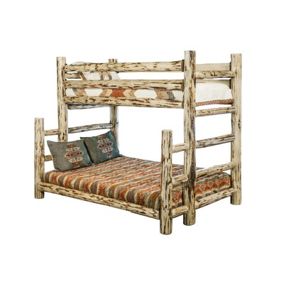 Abordale Twin over Full Bunk Bed Color: Lacquered