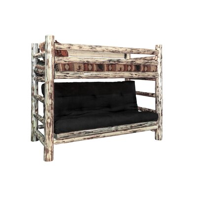 Montana Twin over Full Futon Bunk Bed Finish: Ready to Finish