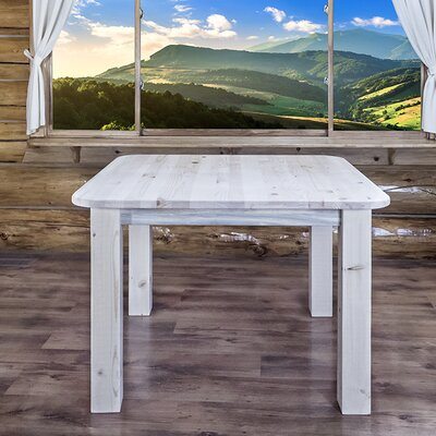 Abella Dining Table Finish: Lacquered, Size: 30 H x 45 W x 45 D