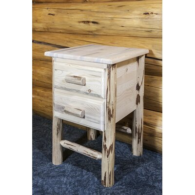 Abordale 2 Drawer Nightstand Finish: Ready To Finish