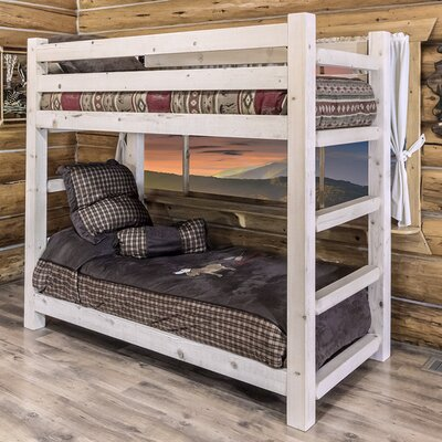 Abella Twin Bunk Bed Finish: Ready to Finish