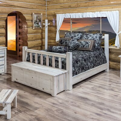 Homestead Panel Bed Finish: Ready To Finish, Size: Queen