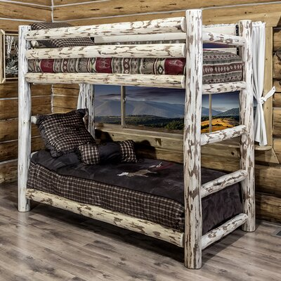 Abordale Twin Bunk Bed Color: Ready To Finish