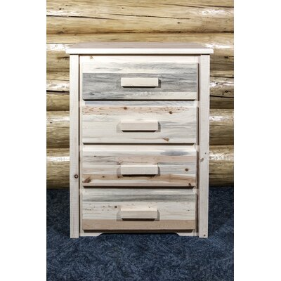 Homestead 4 Drawer Chest Finish: Lacquered