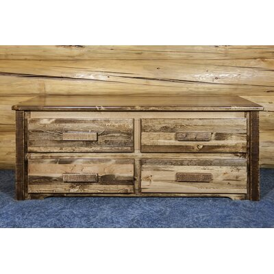 Homestead 4 Drawer Sitting Chest Finish: Stained and Lacquered