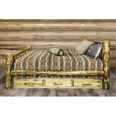 Tustin Wooden Storage Platform Bed Size: Full