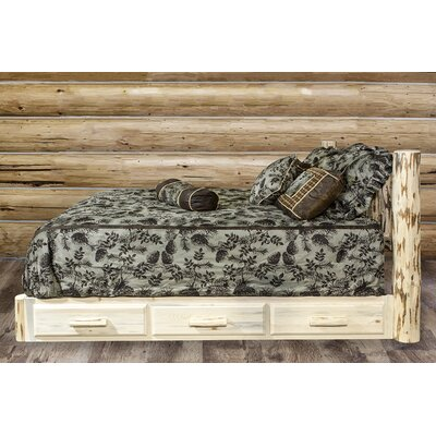 Abordale Storage Platform Bed Color: Ready to Finish, Size: Queen