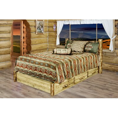 Tustin Storage Platform Bed Size: California King