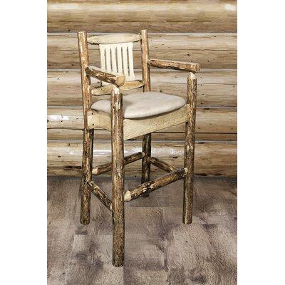 Tustin 30 Bar Stool Upholstery: Buckskin