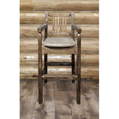 Homestead 30 Bar Stool Upholstery: Buckskin Upholstered