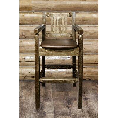 Homestead 30 Bar Stool Upholstery: Saddle Upholstered