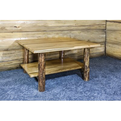 Tustin Cabin Wooden Coffee Table