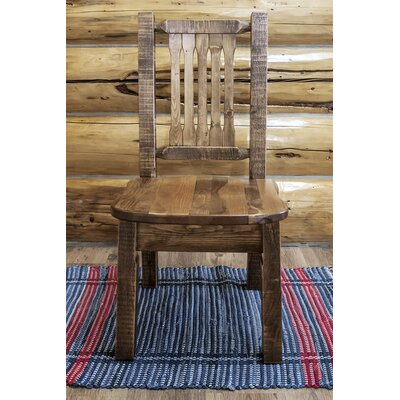Abella Solid Wood Dining Chair Finish: Stain & Lacquer Finish