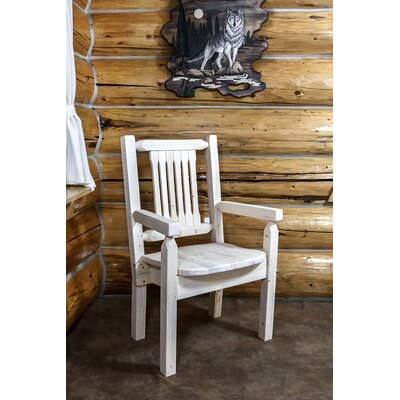 Abella Captains Solid Wood Dining Chair Finish: Ready to Finish
