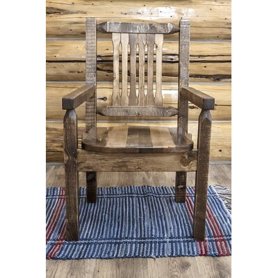 Abella Captains Solid Wood Dining Chair Finish: Stain & Lacquer Finish