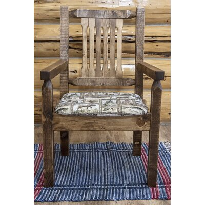 Abella Captains Arm Chair Finish: Stain & Lacquer Finish