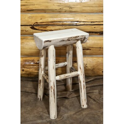 Abordale 30 Bar Stool Finish: Clear Lacquer Finish