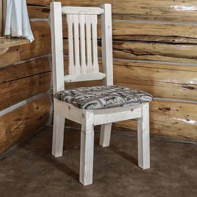 Abella Handcrafted Solid Wood Dining Chair Finish: Ready to Finish