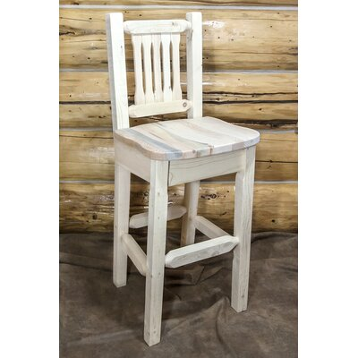Abella 30 Square Bar Stool Finish: Ready to Finish