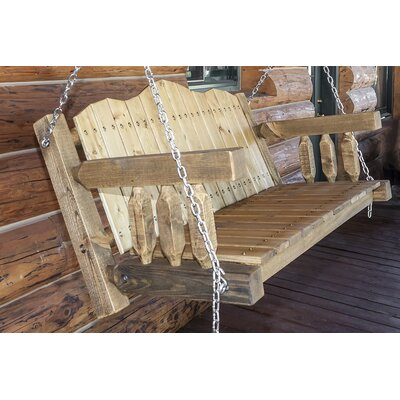 Abella Swing Seat with Chains Finish: Exterior Stain
