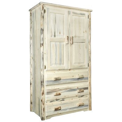 Abordale Armoire Finish: Clear Finish