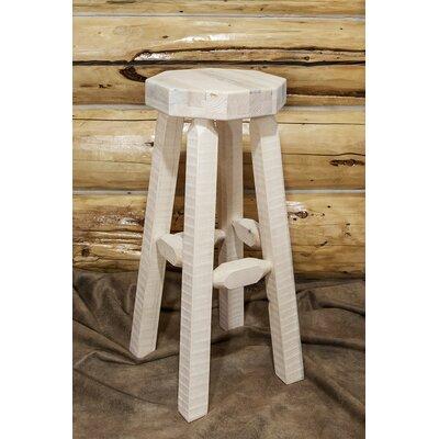 Abella 30 Octagonal Bar Stool Finish: Ready to Finish