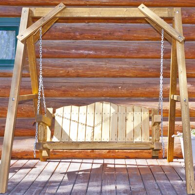 Abella Lawn Swing Finish: Exterior Stain