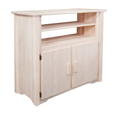 Abella Rustic 44 TV Stand Color: Lacquered