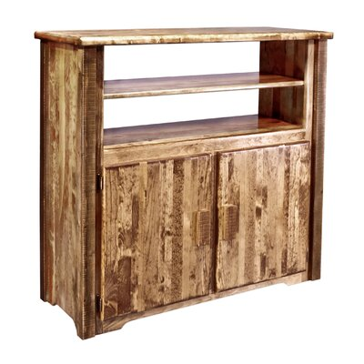 Abella Rustic 44 TV Stand Color: Stained and Lacquered