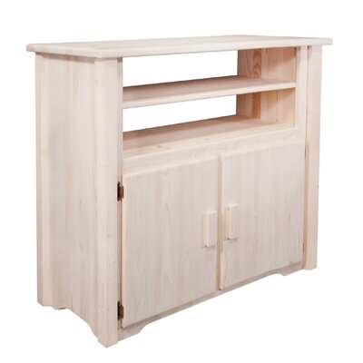 Abella Rustic 44 TV Stand Color: Ready To Finish