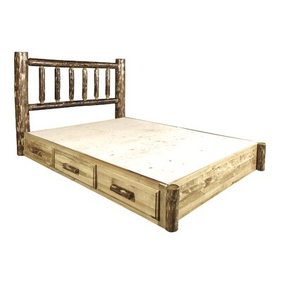 Tustin Wooden Storage Platform Bed Size: King