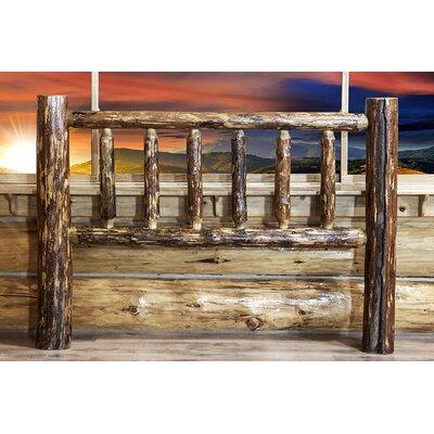 Tungsten Log Slat Headboard Size: California King