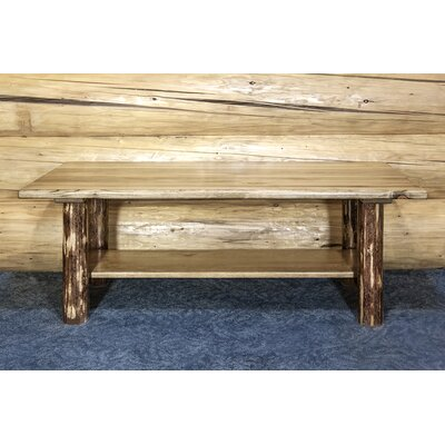 Tustin Unique Cabin Coffee Table